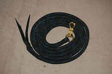 10' LEAD ROPE w/ PARELLI SNAP FOR NATURAL HORSE TRAINING, MANY COLORS AVAILABLE!