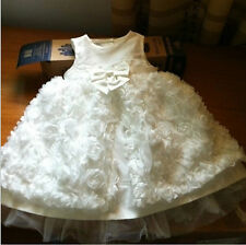 Baby girl Christening Gown wedding dress Newborn Infant formal Baptism dresses