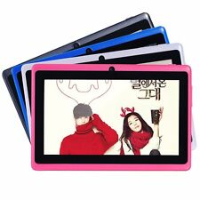 """7"""" Inch Tablet PC Android 4.2 4GB Memory Dual Core Dual Cameras Wifi Multi-Color"""