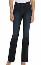 NEW NYDJ Not Your Daughters Jeans pants Barbara bootcut Burbank dark leather Pet
