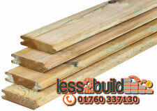 New Treated Timber Tongue & Groove Eased Edge Garden Sheds Sale -Select Length-