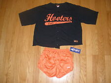 SUPER SEXY HOOTERS BASEBALL JERSEY & SHORTS HALLOWEEN COSTUME STRETCHY SZ XLARGE