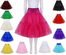 "Petticoat Organza 50's Style - 22"", 24"", 25"", 26"", 27"", 20 colours Made in Wales"