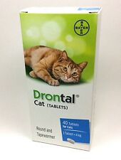 DRONTAL CAT TABLETS Made in Germany For Cat