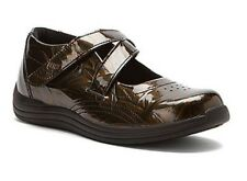 Drew Women's Orchid Velcro Mary Jane Orthopedic Shoes Antique Copper Marble