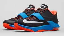"**NIKE KD 7  ""AWAY"" KIDS SIZE 3Y-7Y GS Free shipping  669942-002"