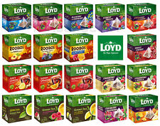 LOYD FRUIT HERBAL GREEN TEA 20 SILK TEABAGS SELECTION BUY 5 GET 6 (+1 FREE BOX)
