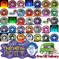 Crazy Aaron's Thinking Putty - Bounce It, Stretch It, Shatter It - All Varieties