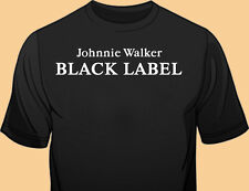 Black Gildan Tee, Bar Staff, Club Promo, Scotch, Whiskey, Liquor, Johnnie Walker