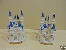 1 SMALL FAIRY TALE CASTLE ( WEDDING, QUINCEANERA, BIRTHDAY, CAKE TOPPER)