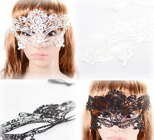 Free shipping 2014 new  2 color sexy white/black cutout lace  party mask