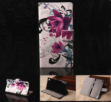 Lotus Luxury Wallet Flip wallet card leather case for SamSung Iphone Nokia G18