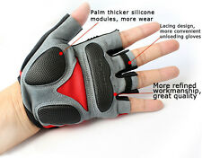 New Half Finger glove Cycling Gloves mountain bike 5 sizes 3 colors