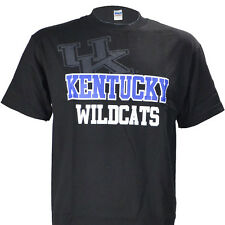 University of Kentucky UK Shadow on Black T Shirt  Warehouse UK Basketball