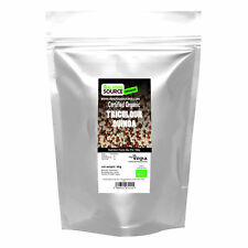 REALFOODSOURCE CERTIFIED ORGANIC TRICOLOUR QUINOA 500g-4kg Quantities