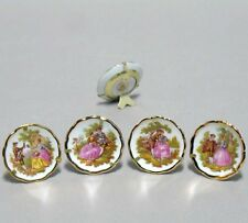Limoges porcelain assorted Miniature plates by lots fine china from France