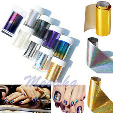 HOT Galaxy Nail Art Transfer Wrap Foil Sticker Glitter Tip Decal Decoration DIY
