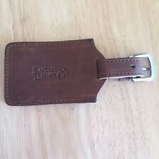Saddleback Leather Luggage Tag - Brand New - Full Grain Leather