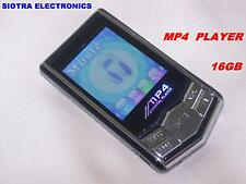 """16GB 1.8"""" TFT LCD Screen MP3 / MP4 Player - FM Radio Tuner, Ear Phones, Cable"""
