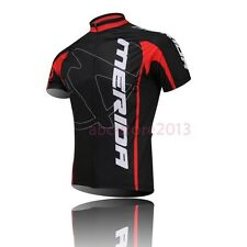 Cycling Bicycle Short Sleeve Top Shirt Clothing Bike Sportwear Jersey Size S~4XL