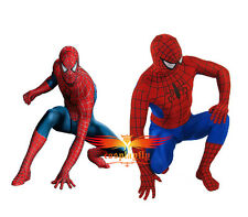 Spider-Man Blue And Red Color Lycra Spandex Made Cosplay Costume Tights