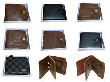 Leather Men Wallet Brand New Boxed Perfect Christmas Gift Luxury Designer purse