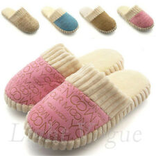 Fashion Women Men Colors Winter Warm Soft Antiskid Indoor Home Cotton Slipper 49