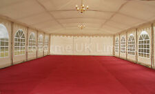 All Sizes marquee lining: ivory roof, curtains and walls BS Fire Retardant