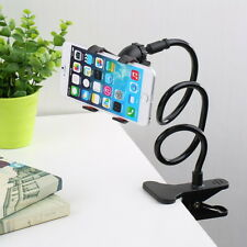 Universal Lazy Bed Desktop Car Stand Mount Holder For Cell Phone Long Arm SU