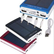 30000mAh Dual USB Portable Solar Panel Battery Charger Power Bank For Cell Phone