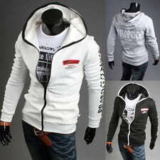 2015 New Sweatshirt FASHION Men Coat Jacket Hoodie Autumn Spring Long Sleeve Top