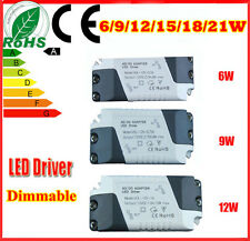 6/9/12/15/18/21W LED Driver Home Use Transformer Drive Available Power Supply