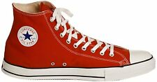 Converse Chuck Taylor All-Star Red Unisex Hi-Tops - Adult Sizes UK 3 - UK 10