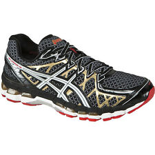 Mens Asics gel Kayano 20 Running Shoes Black White Gold New in Box MSRP $160