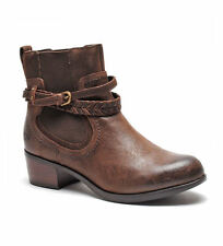 UGG Krewe Short Ankle Boots Brown NEW NIB