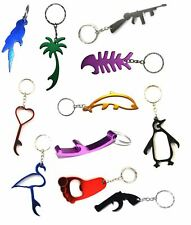 Bottle Opener Keyrings - Metal Keychain