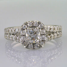 EGL Certified Diamond Engagement Ring Antique Style Cushion Shape 2.02 Carat