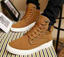 Fashion Men's Casual Shoes Ankle Boots Breathable Cingulate Hip-hop High shoes