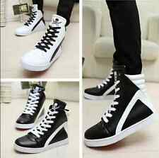 Hot New Fashion Men's Casual Korean High board shoes Hip-hop Ankle Boots T35