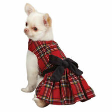 Choose Size - East Side Collection - Holiday Tartan- Dog Puppy Dress