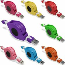 USB to Micro USB Retractable Data Sync Charger Cable for Various Phone Model