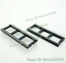 New 10pcs DIP22 DIP24 DIP28 DIP32 DIP40 Holder DIL IC Adapter Sockets Solder