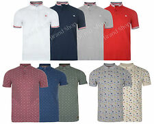 Mens Polo T Shirt Brave Soul Crew Neck  Top  Short Sleeve Collared Summer D24