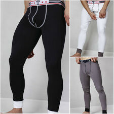 New Men's U convex Low-waist pants winter Pajamas Long johns Thermal Underwear