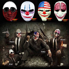 Fashion Game Payday 2 Dallas Wolf Chains Hoxton Resin Mask Cosplay Prop 4Edition