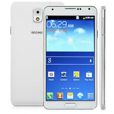 """Dual Core 5.5"""" New Android Unlocked WiFi Dual SIM Mobile Smartphone 3G/GSM GPS"""