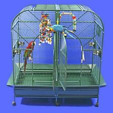 A&E Double Macaw Cage with Removable Divider. Perfect for Large Birds!