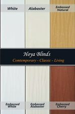 "2"" Premium Faux Wood Window Blinds - 6 colors, Factory Custom Made"