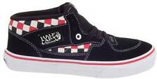 VANS KIDS HALF CAB (CHECKER) BLACK / MULTI YOUTH SHOES AUS SELLER FREE DELIVERY