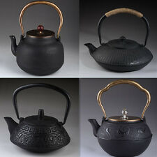 Tetsubin Japanese Style Cast Iron Kettle Tea Pot With Strainer